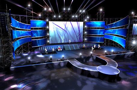成都演唱会舞台搭建现场布置