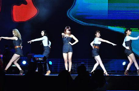 韩国女子组合舞蹈排名