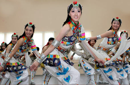 蒙古舞蹈演出