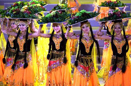 新疆舞蹈表演
