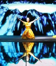 成都光耀未来舞蹈表演 光耀