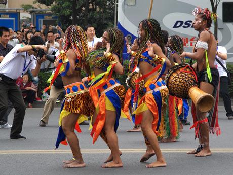 非洲舞蹈视频 非洲舞蹈的特