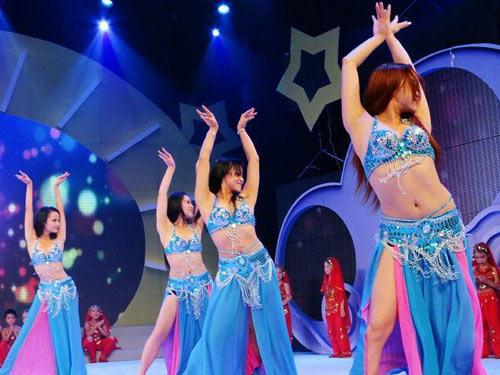 成都印度风情舞表演 印度风情舞蹈视频图片