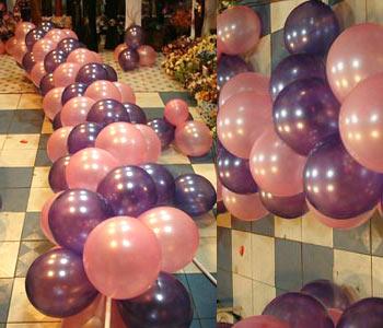 气球拱门制作方法图解