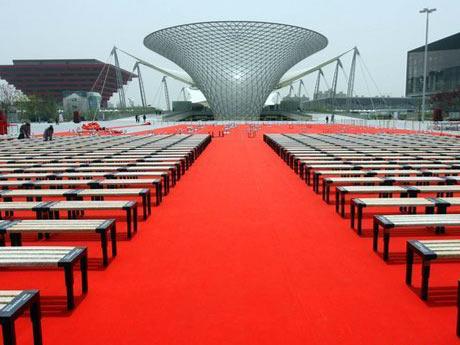 庆典红地毯图片