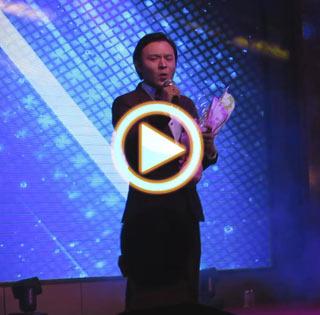 成都刘德华模仿秀节目表演